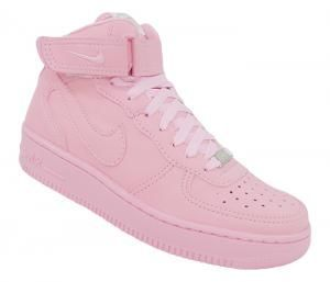 Tenis Nike Air Force 1 Mid ´07 Rosa