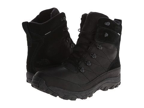 Zoom Bota The North Face Chilkat Leather preta