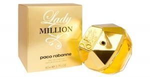 Perfume Lady Million Pacco Rabanne Feminino Eau de Toilette 50ml