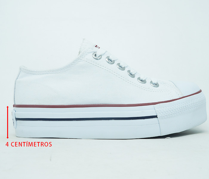 Zoom TÊNIS ALL STAR PLATAFORMA CONVERSE Branco