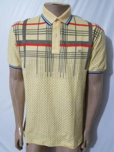 Camisa Polo Burberry Chiclow Amarelo