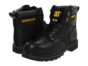 Bota Caterpillar 2nd Shift Steel Toe Preto