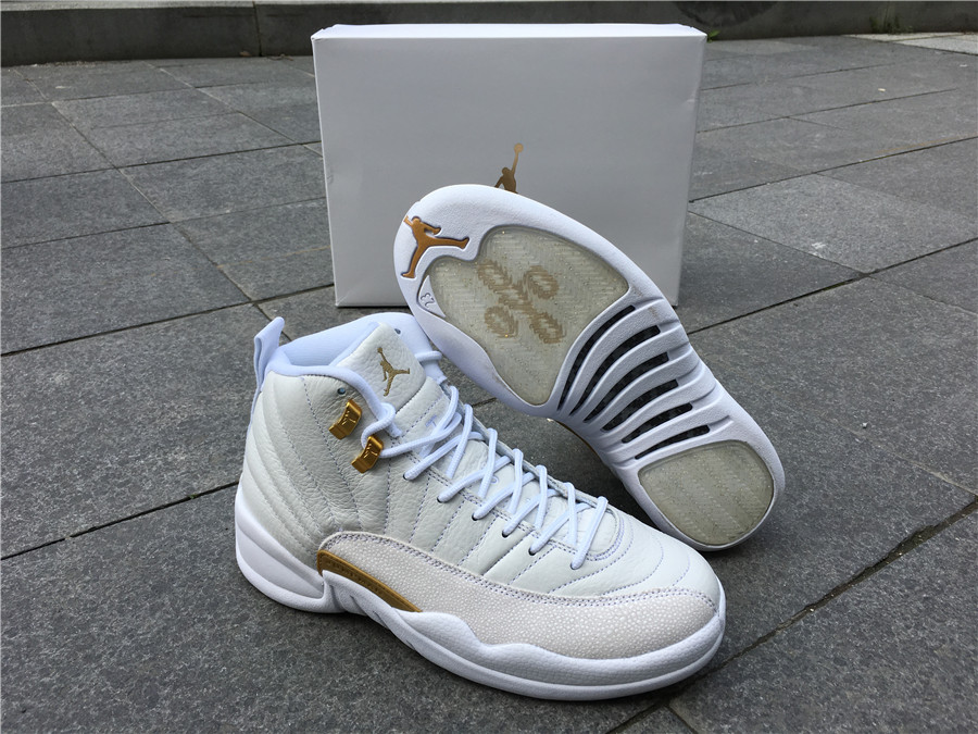 Zoom Nike Air Jordan 12 Branco