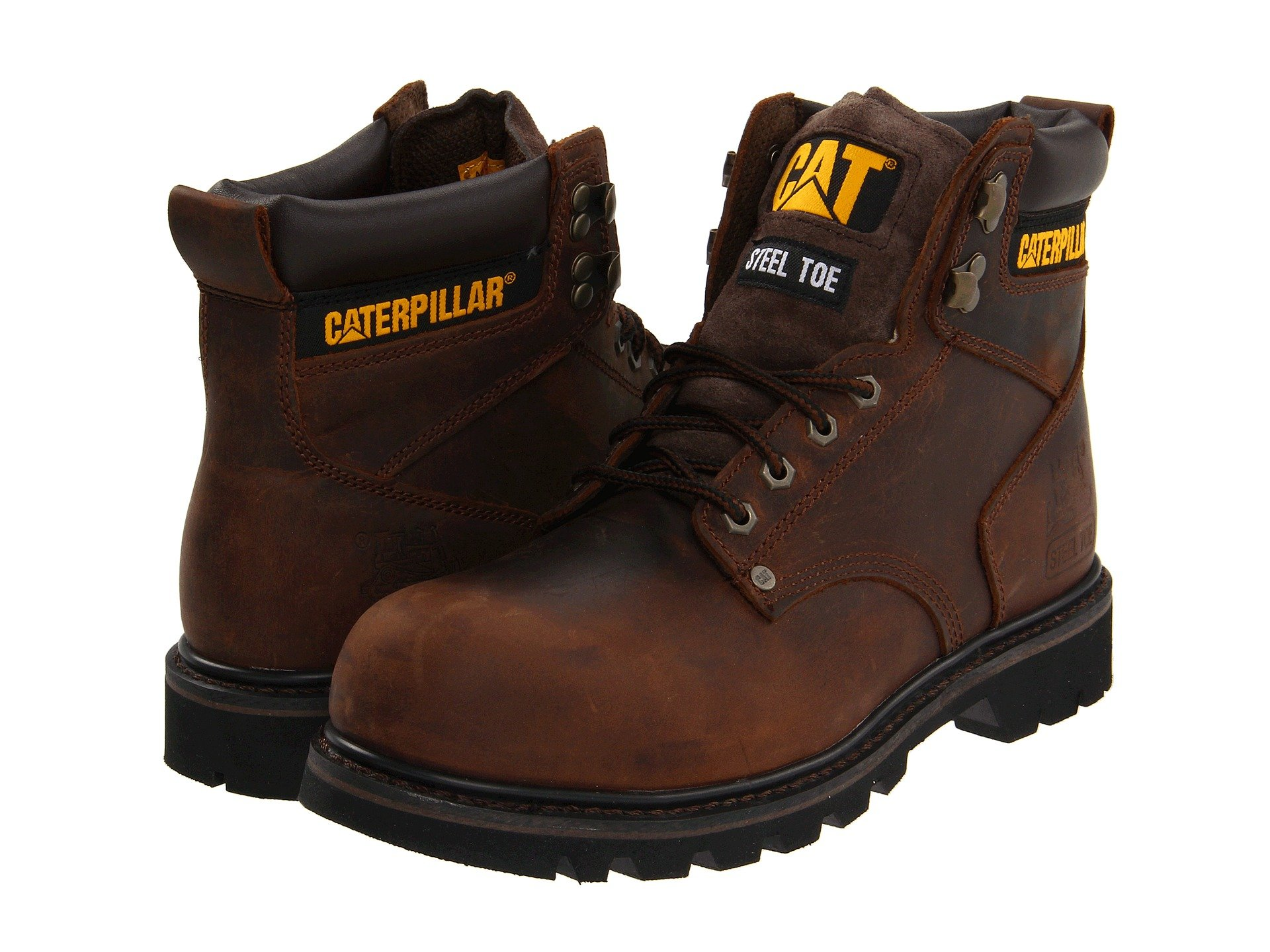 Zoom BOTA CATERPILLAR 2ND SHIFT STEEL TOE DARK BROWN