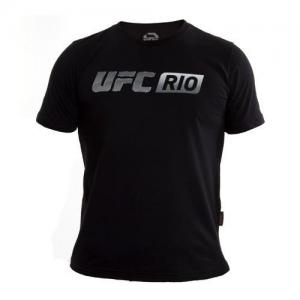 Camiseta Exclusiva UFC Rio Card Preto
