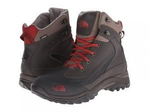 Bota The North Face Chilkat Tech maron  com vermelho