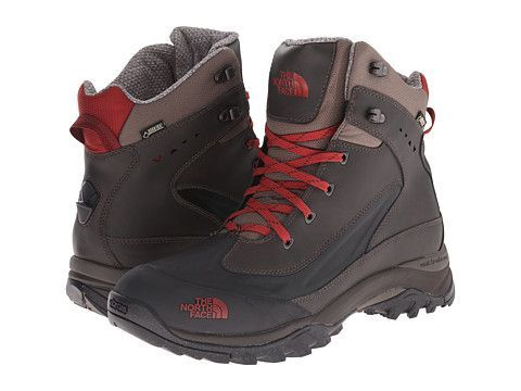 Zoom Bota The North Face Chilkat Tech maron  com vermelho